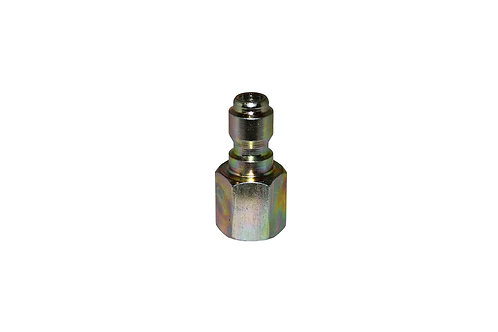 """Pressure Washer - Quick Connect Plug - 1/4"""" Female NPT - Steel Plated"""