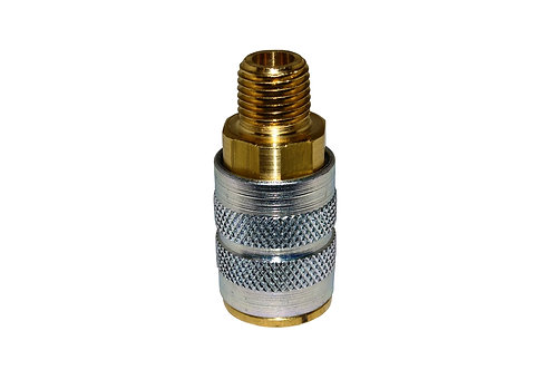 """Industrial Interchange - 1/4"""" Coupler - 1/4"""" Male Pipe Threads"""