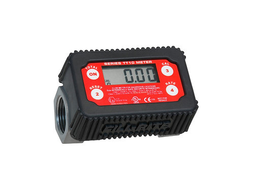 In-Line Digital Turbine Fuel Meter - 2 to 35 GPM - Tuthill/Fill Rite - TT10AN
