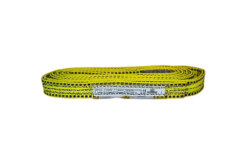 "Lifting Web Sling - 1"" x 5 FT - Two Ply - Flat Eye - Type 3 - Polyester"