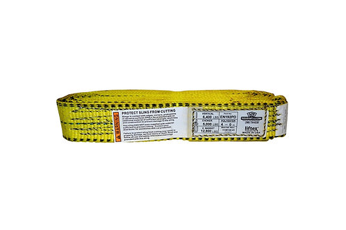 "Lifting Web Sling - 2"" x 4 FT - One Ply - Endless - Type 5 - Polyester"