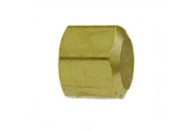 """Compression Cap - 3/8"""" - Brass - 18048"""