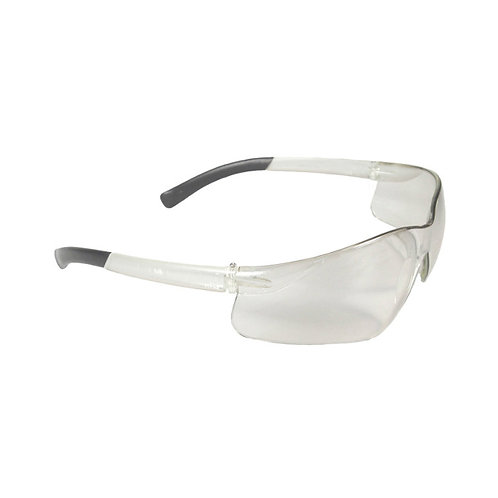 Safety Eyewear - Clear Lens - Polycarbonate - Clear Frame - Radians Rad-Atac