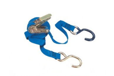 """Ratchet Tie Down - 1"""" x 15 FT - With """"S"""" Hooks"""