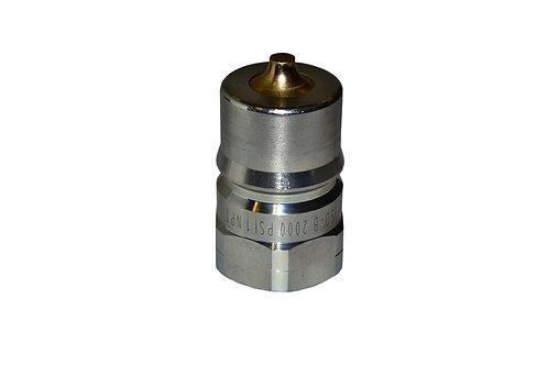 "Hydraulic Quick Coupler - ISO 7241-1 B - 1"" NPT - Male Nipple - IRB Series"