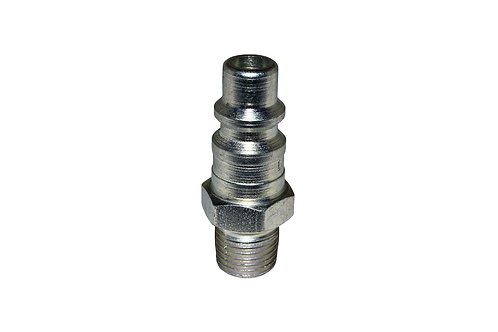 "Industrial Interchange - 3/8"" Plug - 1/4"" Male Pipe Threads"
