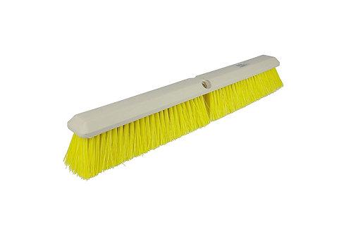 "Floor Brush - Perma-Sweep - 24"" Block - Yellow Polypropylene Fill - 42166"