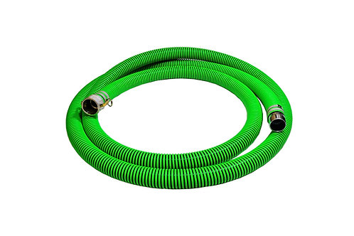 """EPDM Rubber Suction Hose - 3"""" x 20' - Conventional Style Assembly - Tigerflex"""