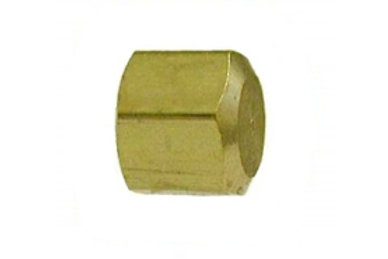 "Compression Cap - 1/4"" - Brass - 18047"