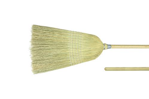 """Upright Broom - Light Industrial - 56"""" Length - Corn Fill - 44009"""