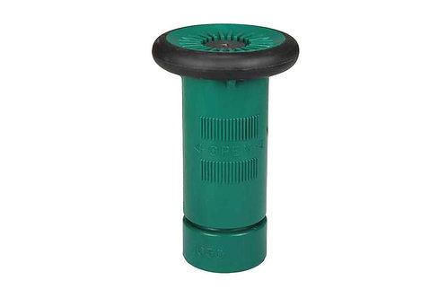 "Fire Hose Nozzle - 3/4"" Garden Hose Thread (GHT) - Polycarbonate - Green"
