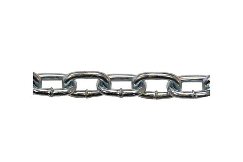 """G30 Proof Coil Chain - Long Link - 1/4"""" x 10 FT"""