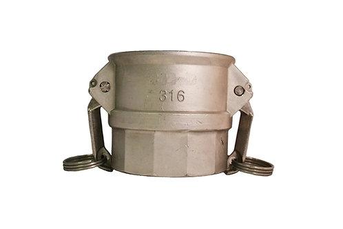 "Camlock - Female Camlock x Female NPT - 1-1/2"" - 316 Stainless Steel - 150D"