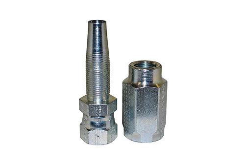 "Hydraulic Fitting - Reusable - 1/2"" Hose I.D. x 1/2"" Female JIC - 100R2AT Hose"