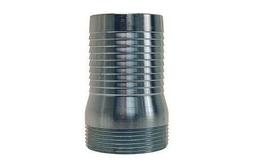 "Pin Lug Coupling - King Short Shank - Male - 3"" NPSM Threads - Steel"