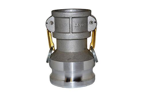 """Jumpsize Camlock - 2"""" Female Camlock X 3"""" Male Camlock - Aluminum - DA2030"""