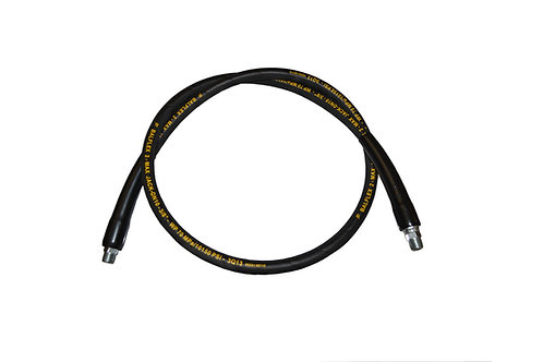 "Hydraulic Jack Hose - 3/8"" x 3 FT - 10,000 PSI - Enerpac Style"
