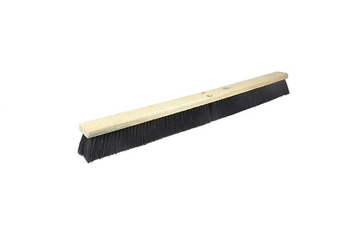 "Floor Brush - Medium Sweep - 36"" Block - Black Tampico Fill - 42047"