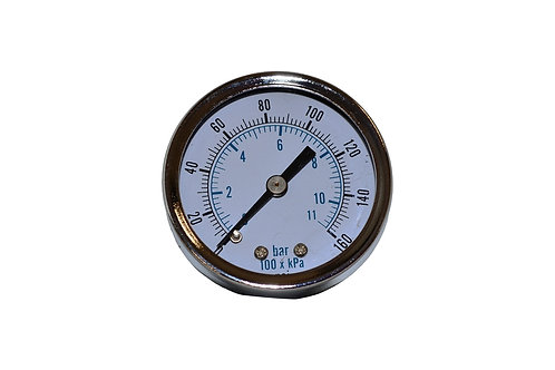 "Utility Dry Gauge - 2"" - 0 to 160 PSI - 1/8"" CBM"