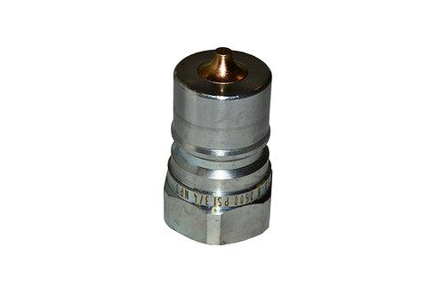 "Hydraulic Quick Coupler - ISO 7241-1 B - 3/4"" NPT - Male Nipple - IRB Series"