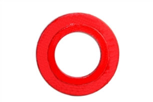 Foot-Valve_3-IN_Seat-Plate_Cast-Iron_Red