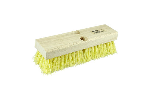 "Deck Scrub Brush - 10"" Length - Polypropylene Fill - 44434"