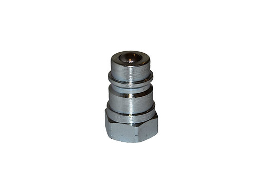 """Hydraulic Quick Coupler - Agricultural - 1/2"""" NPT - Male Nipple - ISO 5675"""