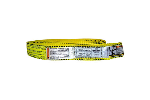 "Lifting Web Sling - 2"" x 5 FT - Two Ply - Endless - Type 5 - Polyester"