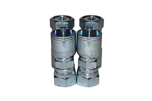 "Hydraulic Crimp Fitting - 3/8"" Female Seal-Lok x 1/4"" Hose Barb - E205 4 Pack"