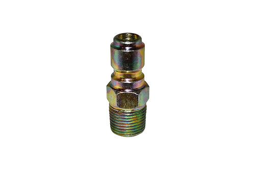 """Pressure Washer - Quick Connect Plug - 3/8"""" Male NPT - Steel Plated"""