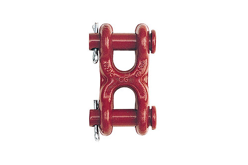 """Connecting Link - 7/16"""" - 1/2"""" - Twin Clevis Style - Crosby"""