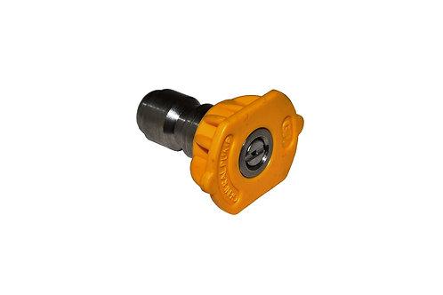 Pressure Washer - Spray Nozzle - Quick Connect - 15 Degree - 4 GPM - Yellow