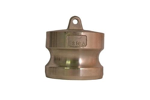 """Camlock - Dust Plug - 1-1/2"""" - 316 Stainless Steel - 150DP"""