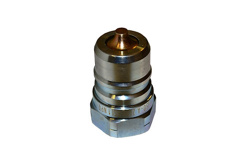"Hydraulic Quick Coupler - ISO 7241-1 A - 1"" NPT - Male Nipple - 6600 Series"