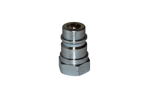 "Hydraulic Quick Coupler - ISO 7241-1 A - 1/2"" NPT - Male Nipple - 6600 Series"