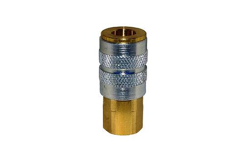 "Industrial Interchange - 1/4"" Coupler - 3/8"" Female Pipe Threads"