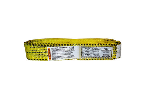 "Lifting Web Sling - 2"" x 5 FT - One Ply - Endless - Type 5 - Polyester"