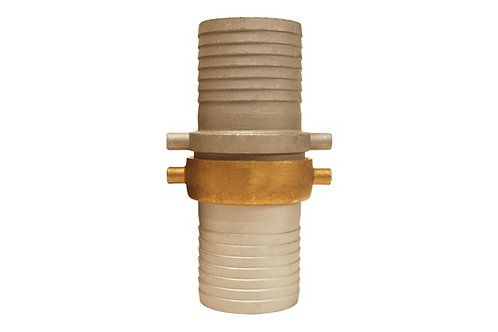 "Pin Lug Coupling - King Short Shank - 2"" NPSM Threads - Complete - Aluminum"