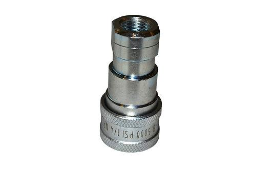 "Hydraulic Quick Coupler - ISO 7241-1 B - 1/4"" NPT - Female Coupler - IRB Series"