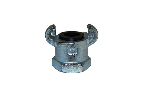 """Air King Coupling - 1"""" Female Pipe - Plated Iron - AM13"""