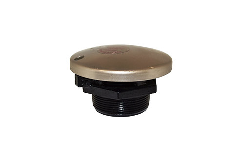 "Fuel Cap - Vapor Control - 2"" NPT - Pre-Vent Cap and Base - Cast Iron - 60001"