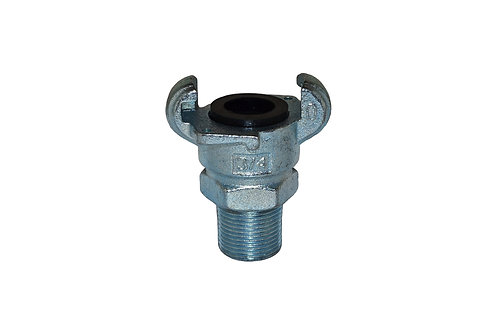 "Air King Coupling - 3/4"" Male Pipe - Plated Iron - AM07"