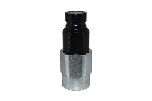 "Hydraulic Quick Coupler - APM 13 - Flat Face - 1/2"" x 3/4"" NPT - Male Nipple"