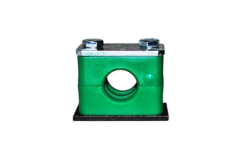 """Hose and Tube Clamp - 1/2"""" Tube - Weld On - Standard Series - A2-12.7-A"""