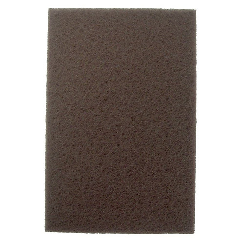 Hand Pad - Non-Woven - Heavy Duty - Brown - Aluminum Oxide - 51454