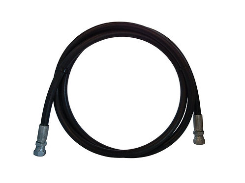"Hydraulic Hose - 2 Wire - 1/4"" x 18"" - With Female JIC - 100R2AT-4"