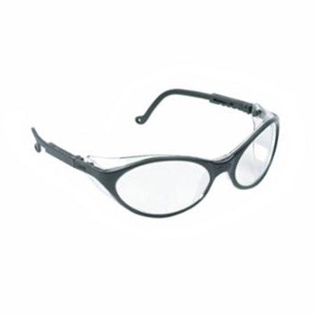 Safety Eyewear - Clear Lens - Anti-Scratch - Black Frame - Bandit