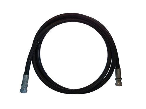 "Hydraulic Hose - 2 Wire - 1/2"" x 24"" - With Female JIC - 100R2AT-8"