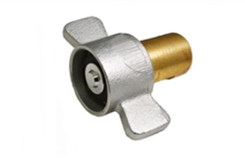 "Hydraulic Quick Coupler - Wet Line - Wing Nut - 1"" - Coupler - W Series - 8WF8B"