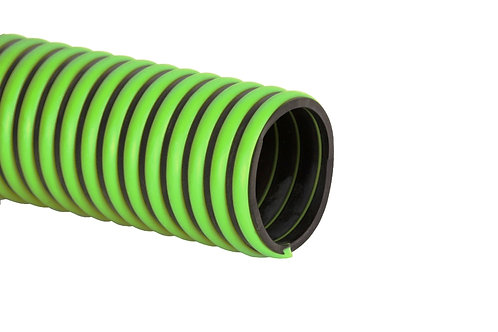 """EPDM Rubber Suction Hose - 2"""" x 20 FT - Without Fittings - Tigerflex"""